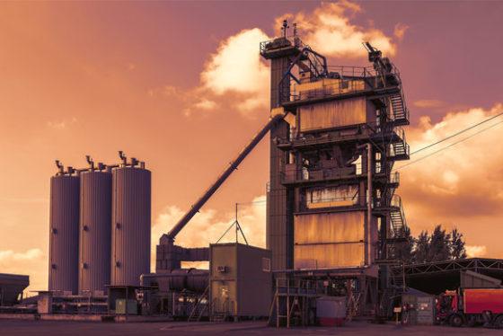 Asfalt santrali tipleri
