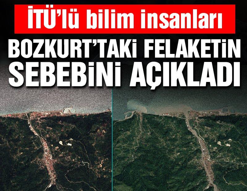 Bilim insanları Bozkurt'taki sel felaketinin sebebini açıkladı