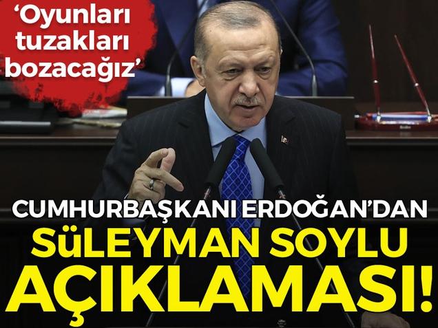Cumhurbaşkanı Erdoğan'dan Binali Yıldırım açıklaması!