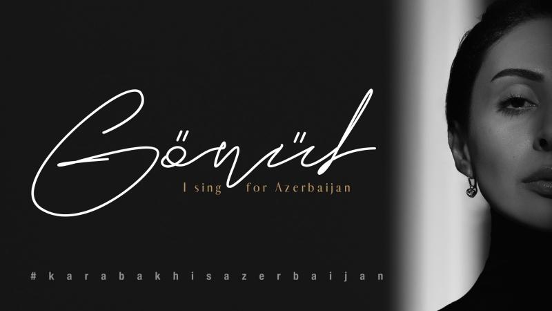 """Diriliş Ertuğrul oyuncusu Gönül Nagiyeva'nın """"Karabakh is Azerbaijan"""" nakaratlarını seslendirdiği performansı sosyal medya challenge'na dönüştü"""