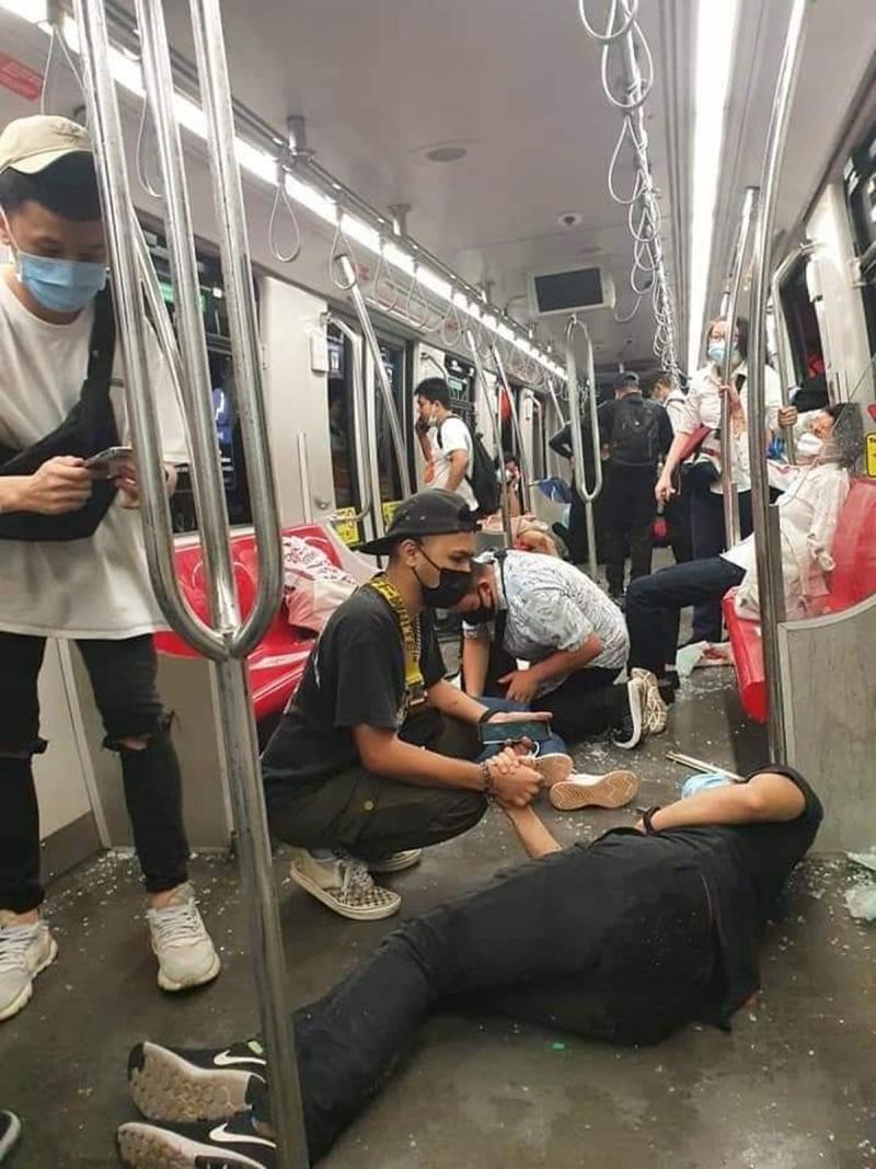 Metro kazasında 200'den fazla yaralı