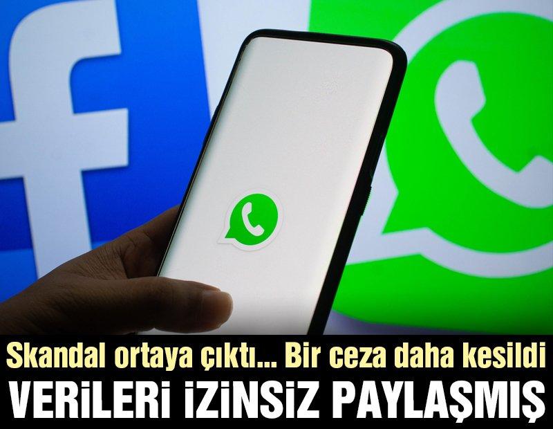 Whatsapp'tan skandal… Kullanıcı verilerini izinsiz olarak Facebook'la paylaşmış