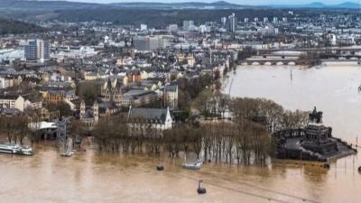 Almanya'yı sel bastı: Ölü ve kayıplar var, OHAL ilan edildi