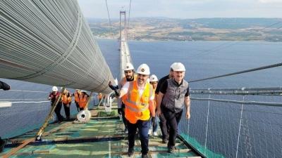 Çanakkale Köprüsü'nün maliyeti 1.8 milyar Euro olarak hesaplandı