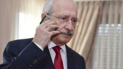 Kılıçdaroğlu'ndan AKP'ye başsağlığı telefonu