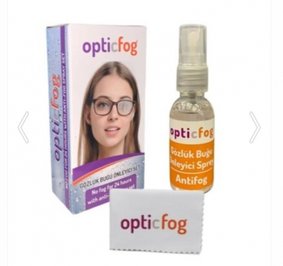 OpticFog Buğu Önleyici Antifog Sprey Set