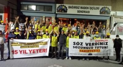 Somalı madencilere Ankara girişinde polis engeli