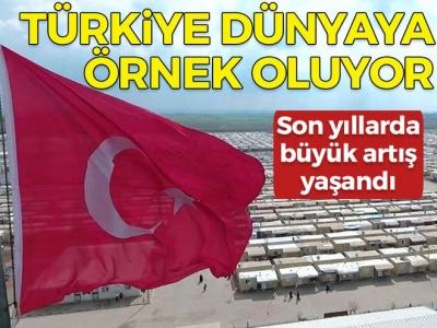 Son yıllarda büyük artış yaşandı! Türkiye dünyaya örnek oluyor